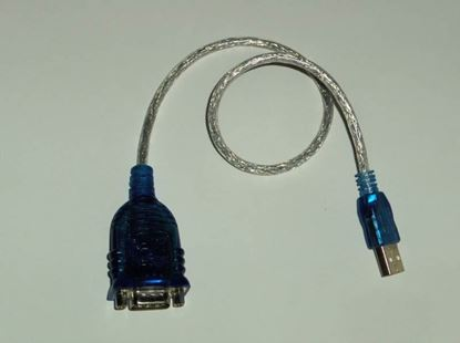 Picture of RS-232 Serial to USB Adapter