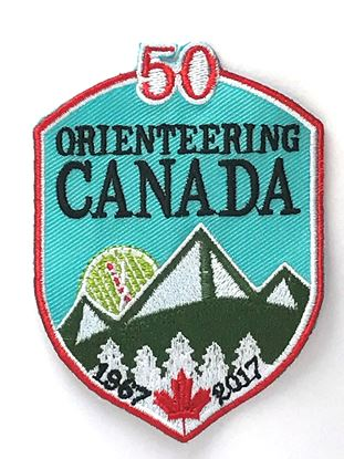 Picture of Orienteering Canada 50th Anniversary Badge