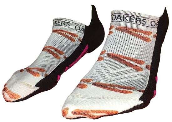 Picture of Orienteering Themed Ankle Socks