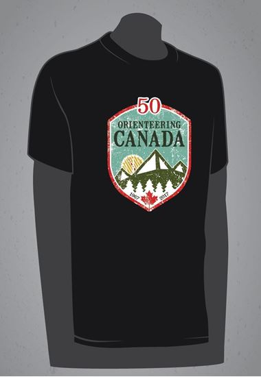 Picture of Orienteering Canada 50th Anniversary T-Shirt