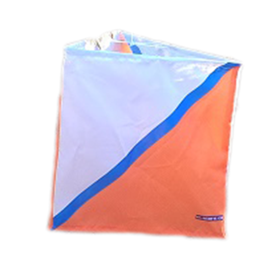 Picture of Vavrys 30 cm Control Flag with blue stripe