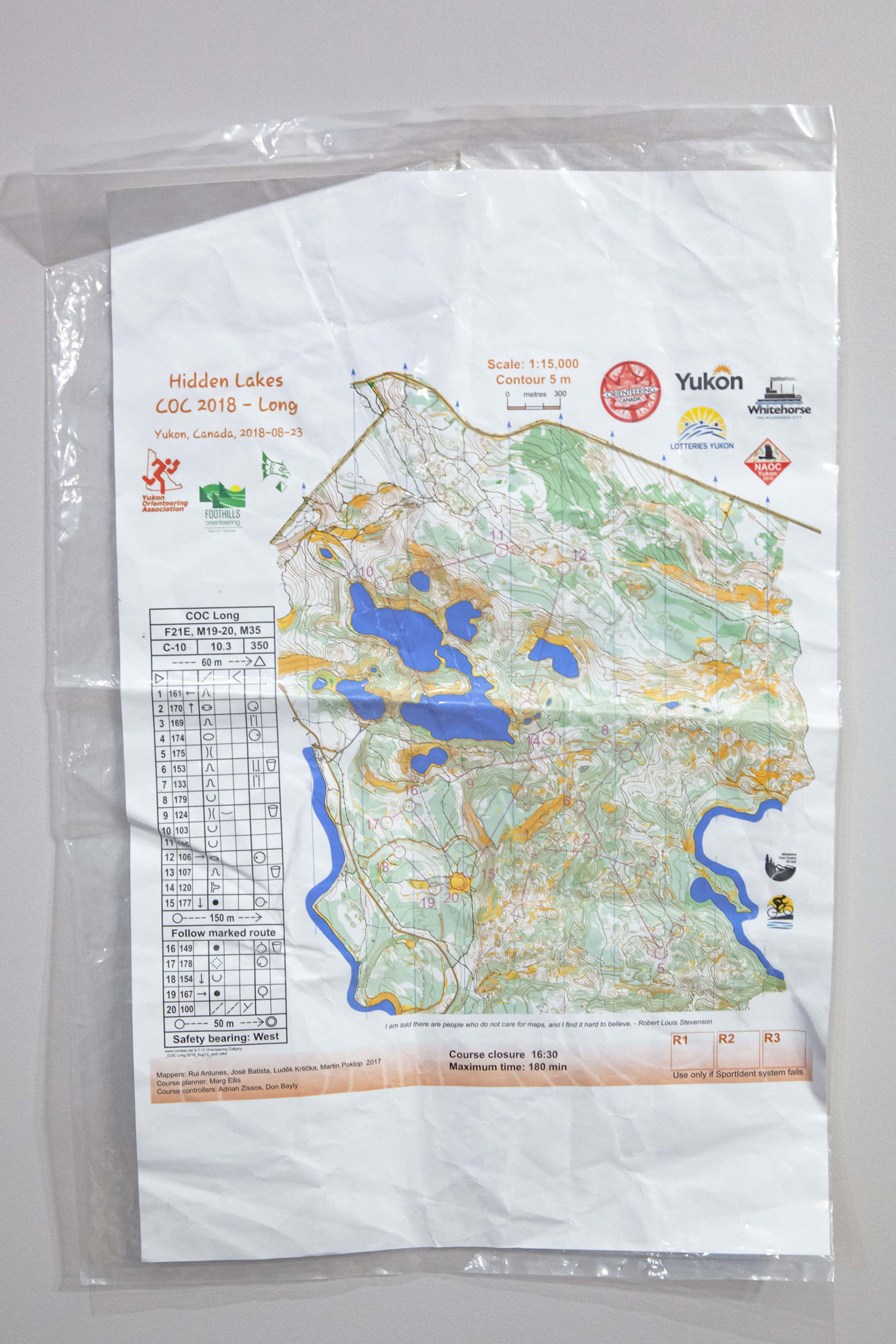 """Picture of 12"""" by 18"""" map bags (100)"""