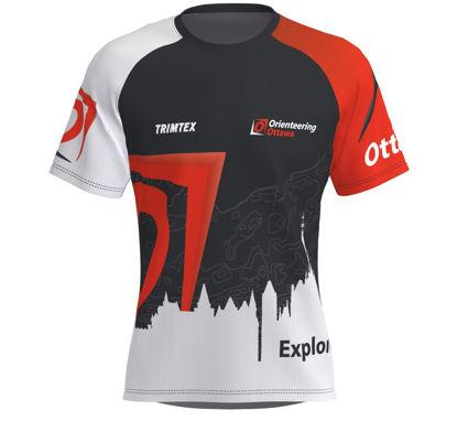 Picture of Orienteering Ottawa Technical T-Shirt - Dark