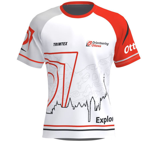 Picture of Orienteering Ottawa Technical T-Shirt - Light