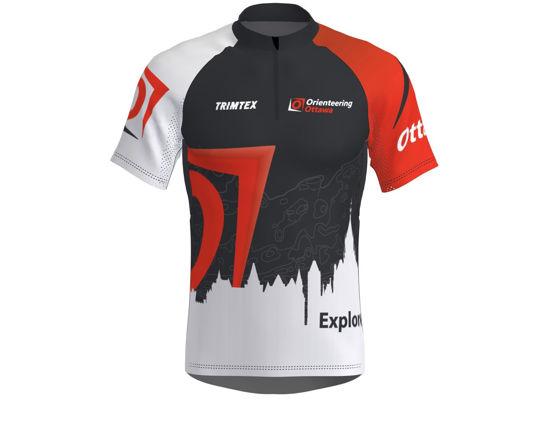 Picture of Orienteering Ottawa Race Shirt - Dark