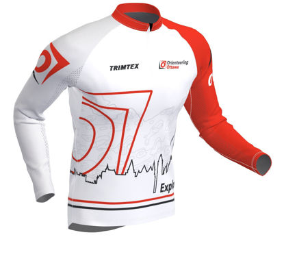 Picture of Orienteering Ottawa Longsleeve Race Shirt - Light